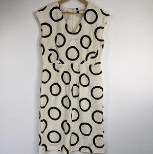 Banana Republic silk blend dress
